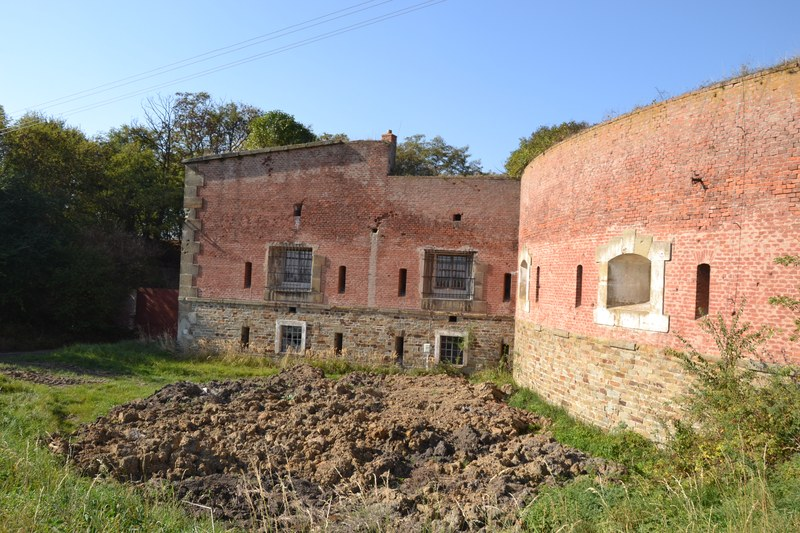 """Fort XXII """"Lazecký"""" v Černovíře"""